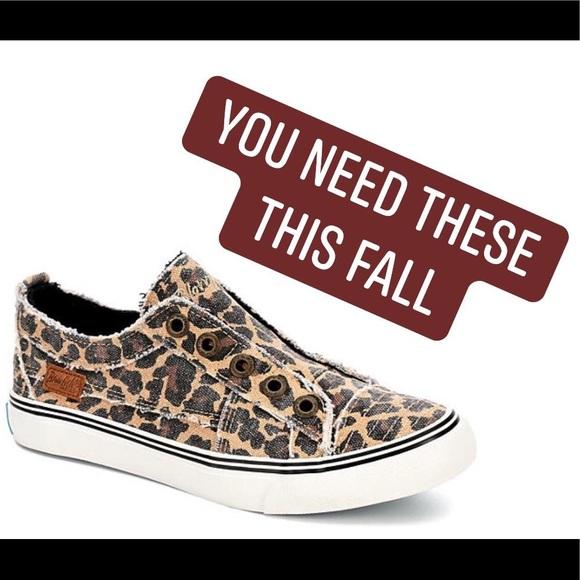 blowfish leopard print shoes